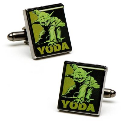 Cufflinks - Fighting Yoda - STAR WARS
