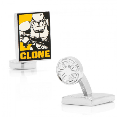 Cufflinks - Clone Trooper Pop Art - STAR WARS