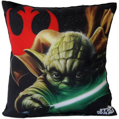 Pillow - Yoda 30 cm - STAR WARS