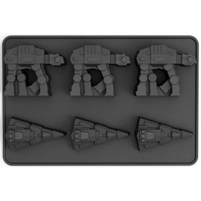 Ice Cube Tray - AT-AT & Star Destroyer - STAR WARS