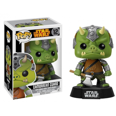 POP! Vinyl Wackelkopf-Figur - Gamorrean Guard Black Box Re-Issue 9 cm - STAR WARS