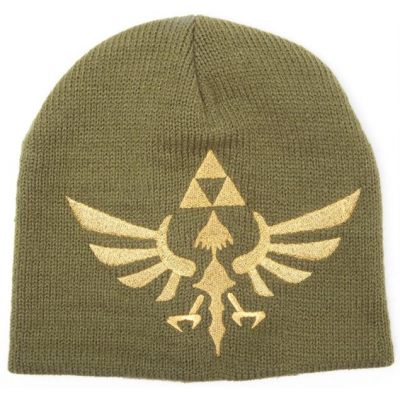 Beanie - Woven Golden Logo - The Legend of Zelda