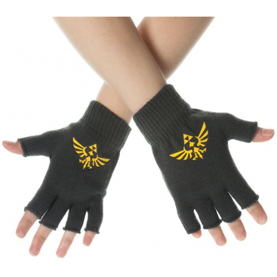 Handschuhe - Logo, fingerlos - The Legend of Zelda