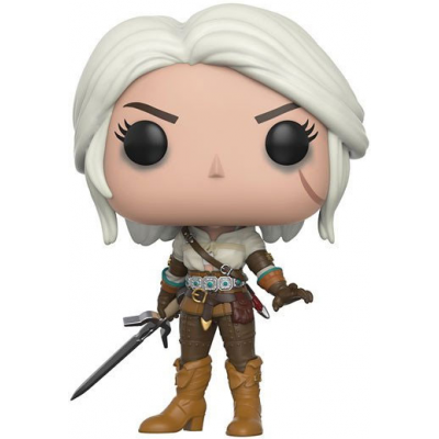 The Witcher POP! Games Vinyl Figur Ciri 9 cm