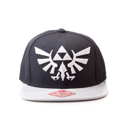 Snapback - Logo Schwarz Grau - The Legend of Zelda