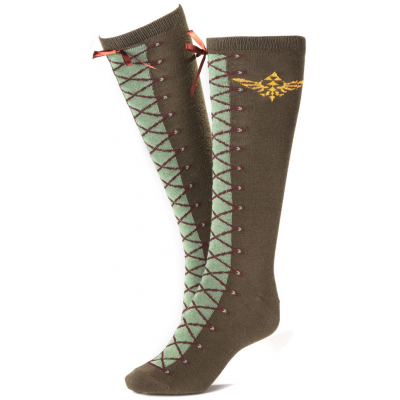Socks - Knee High Socks, One Size - The Legend of Zelda