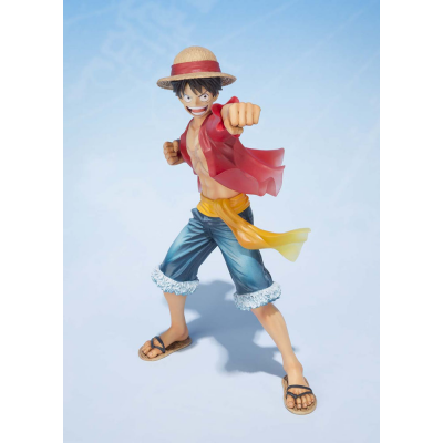 FiguartsZERO PVC Statue - Monkey D Ruffy 5th Anniversary 14 cm - One Piece