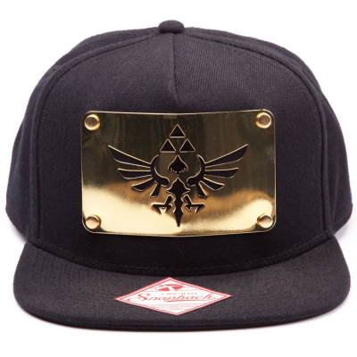 Snapback - Golden Metal Plate - The Legend of Zelda