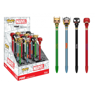 Marvel Comics POP! Homeware Pen with Topper