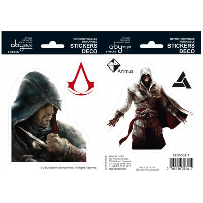 Sticker - Ezio 16 x 11 cm - Assssins Creed