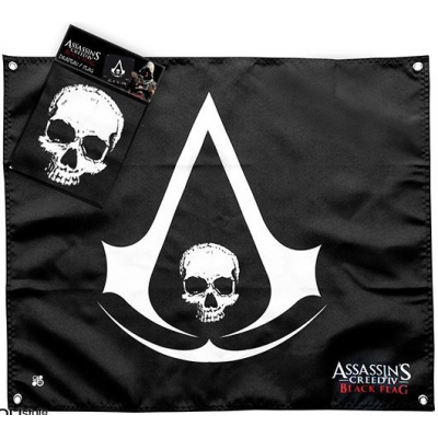 Flag - Skull 50 x 60 cm - Assssins Creed