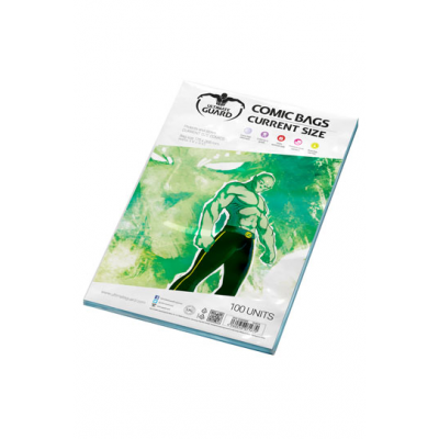 Ultimate Guard Comic Bags Current Size (100)