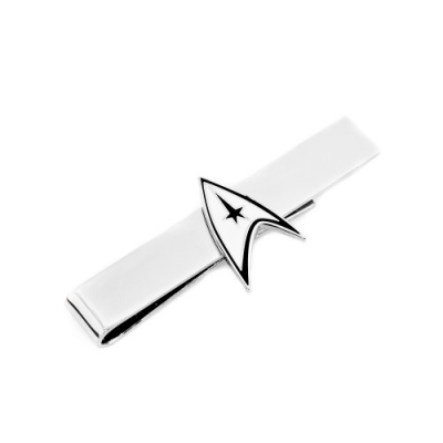 Tie Bar - Two Tone Delta Shield - Star Trek