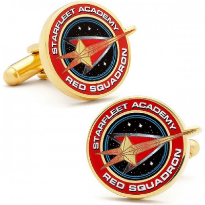 Cufflinks - Red Squadron - Star Trek