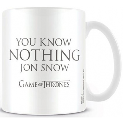 Game of Thrones Tasse You Know Nothing Jon Snow