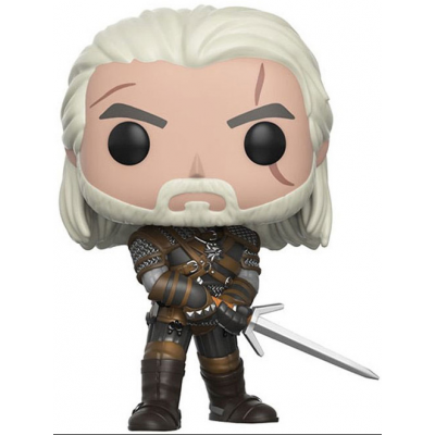 The Witcher POP! Games Vinyl Figur Geralt 9 cm