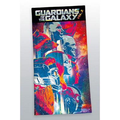 Guardians of the Galaxy 2 Towel Characters 140 x 70 cm