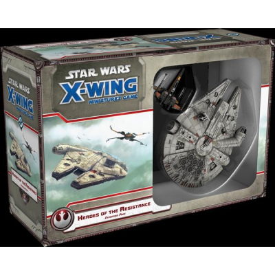 Star Wars X-Wing: Heroes of the Resistance Expansion...
