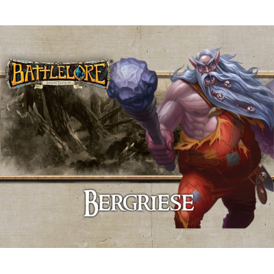 Battlelore 2. Edition - Bergriese Verstärkungspack, Deutsch