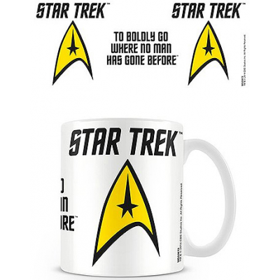 Star Trek Mug To Boldly Go