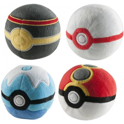 Pokemon Plush Pokeballs 7 cm D2