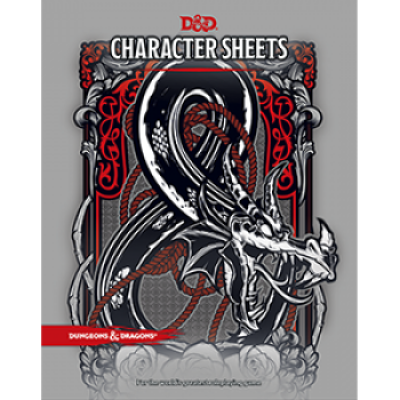 Dungeons & Dragons RPG - Character Sheets, Englisch