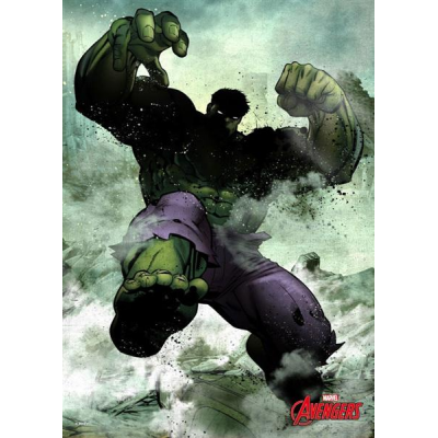 Marvel Comics Metal Poster Dark Hulk 32 x 45 cm