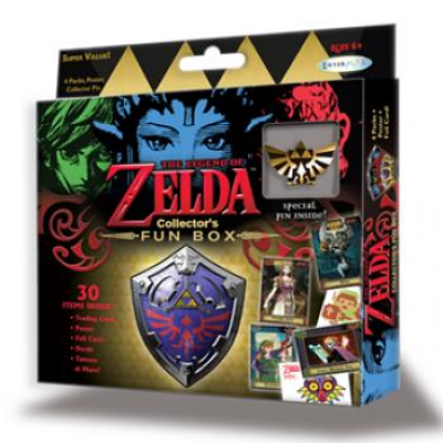 The Legend of Zelda: Trading Card Collection - Collectors Fun Box, Englisch