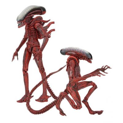 Aliens Genocide Action Figure 2-Pack Big Chap & Dog Alien...