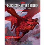 Dungeons & Dragons RPG - Dungeon Masters Screen...