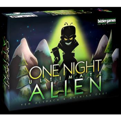 One Night Ultimate Alien, English