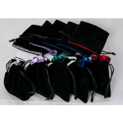 Blackfire Dice - Velvet Dice Bags with Satin Lining...