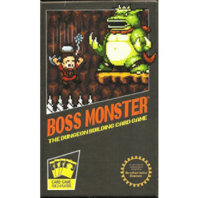 Boss Monster: The Dungeon Building Card Game, English