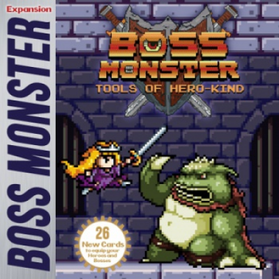 Boss Monster: Tools of Hero Kind Expansion, English