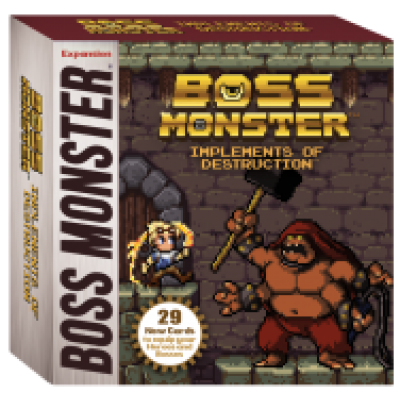 Boss Monster: Implements of Destruction, English
