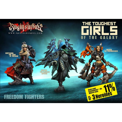 Heroines Box : The FREEDOM Fighters (JB, KST, IE)