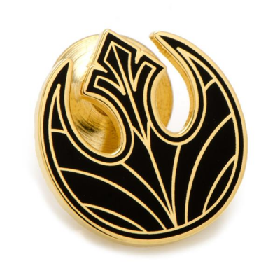 Star Wars Lapel Pin Rebel Symbol, Gold