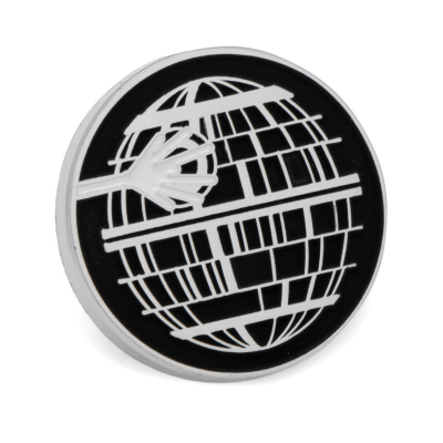 Star Wars Lapel Pin Death Star, Glow in the Dark