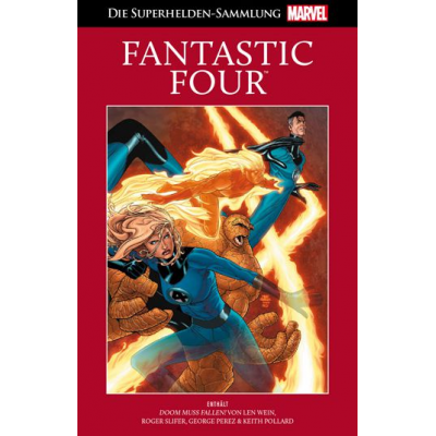 Hachette Rote Marvel Collection 12: Fantastic Four