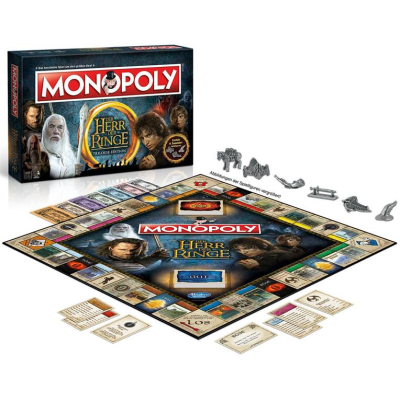 Lord of the Rings Board Game Monopoly, German