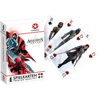 Assassins Creed Number 1 Spielkarten