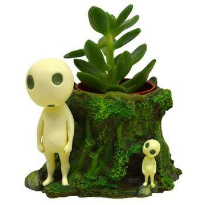 Princess Mononoke Plant Pot Kodamas Forest 8 cm