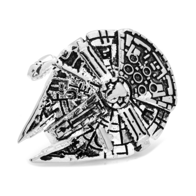 Star Wars Lapel Pin Millenium Falcon 3D