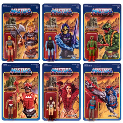 Masters of the Universe ReAction Action Figures 10 cm Wave 3