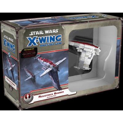 Star Wars X-Wing: Resistance Bomber Expansion Pack, German