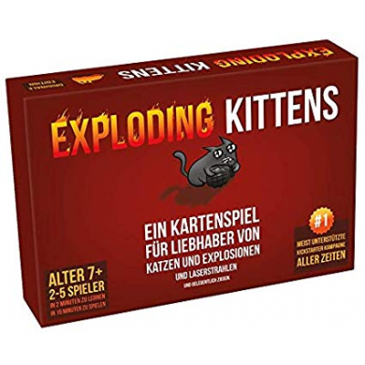 Exploding Kittens, German