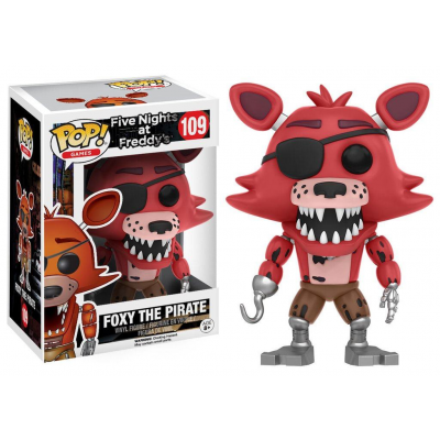 Five Nights at Freddys POP! Games Vinyl Figure Foxy The...