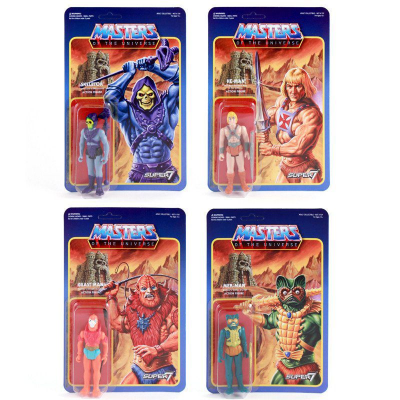Masters of the Universe ReAction Action Figures 10 cm Wave 1