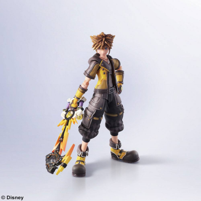 Kingdom Hearts III Bring Arts Action Figure Sora Guardian...