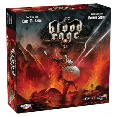Blood Rage: Core Game, German